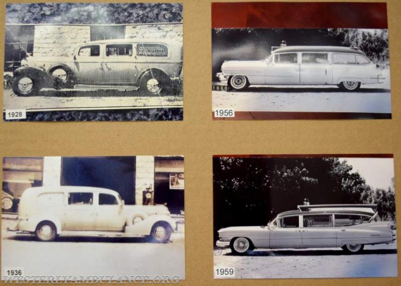 Remember when ambulances had fins? Photos of the vehicles at the ambulance corps' open house served to illustrate the evolution of emergency services over the past 100 years.   Anna Sullivan, The Westerly Sun